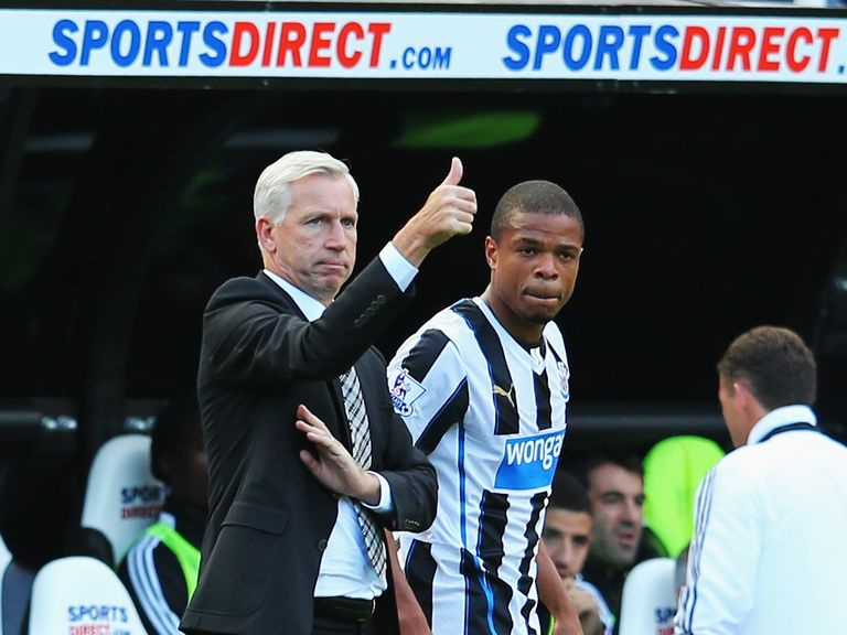 Alan Pardew: insists Remy was injured for Liverpool game