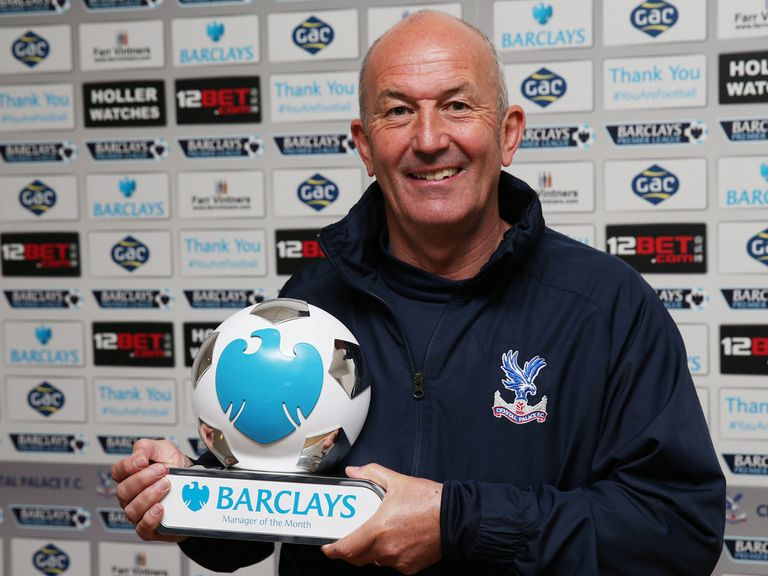 Tony Pulis: Has turned Crystal Palace's fortunes right around