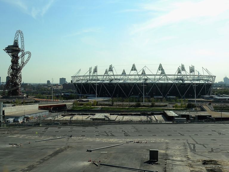 Olympic Stadium: Will become West Ham's home ground