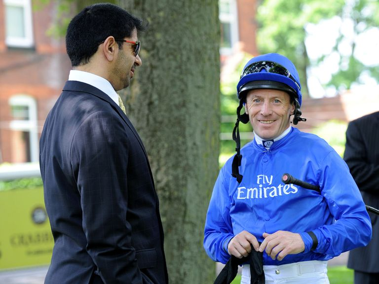 Kieren Fallon and Saeed bin Suroor team up with Britannia fancy First Flight