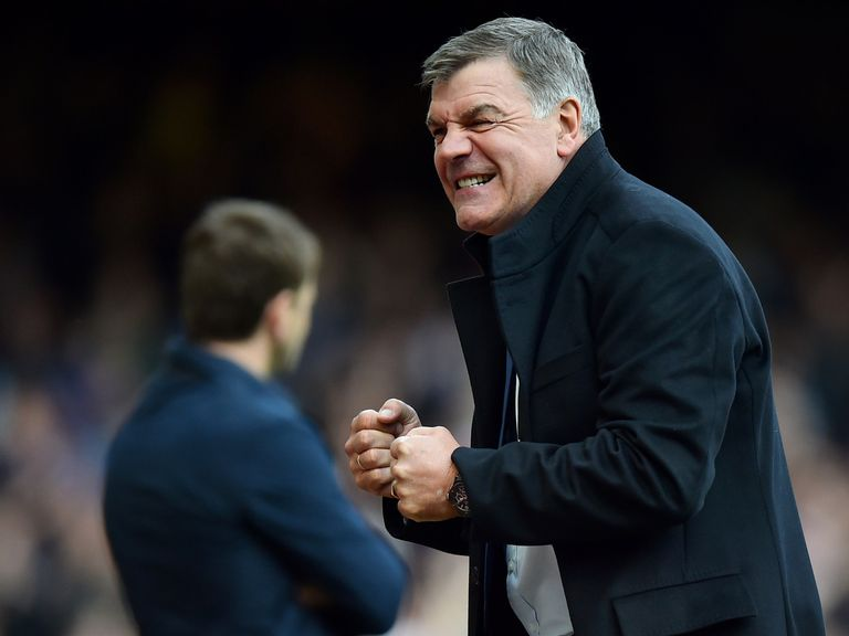 West Ham boss Sam Allardyce: Held positive talks with the board
