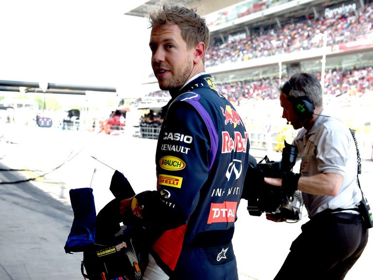Sebastian Vettel: Recovered to finish fourth in Barcelona