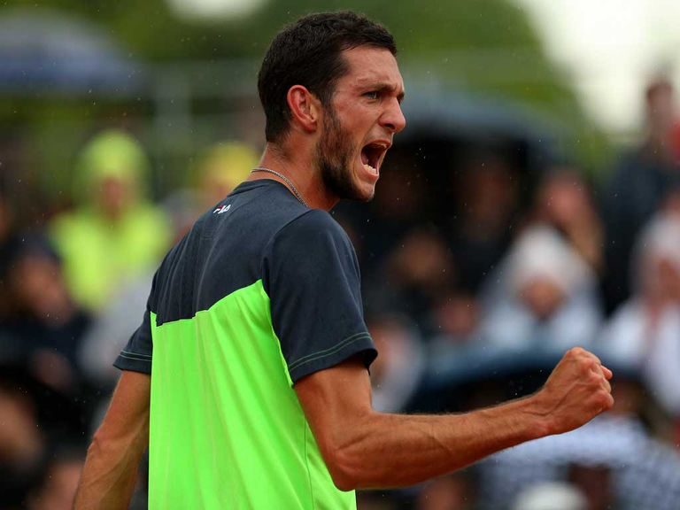 James Ward: Will play fourth seed Dimitrov next