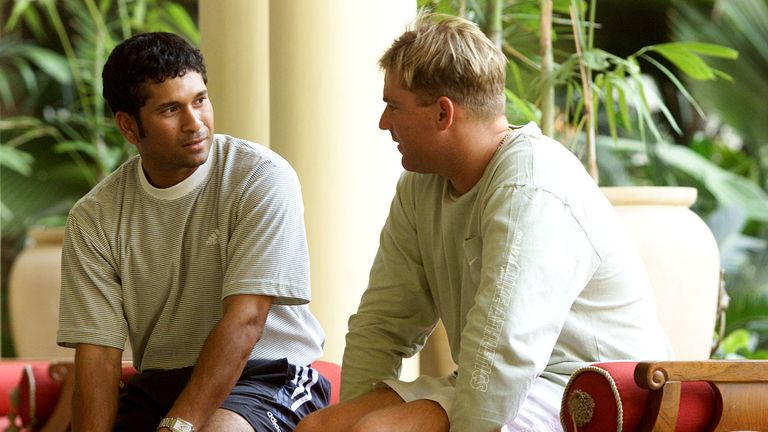 Sachin Tendulkar and Shane Warne will face off for old time's sake...