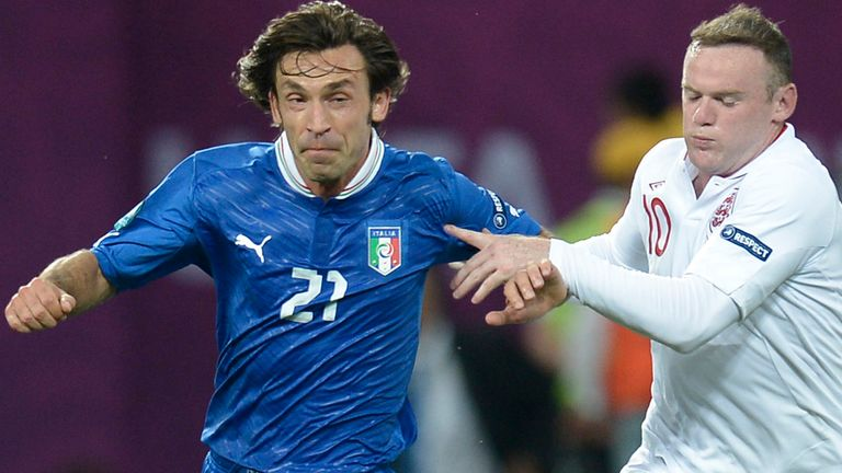 Can Wayne Rooney and co stop Italy's masterful midfielder Andrea Pirlo?