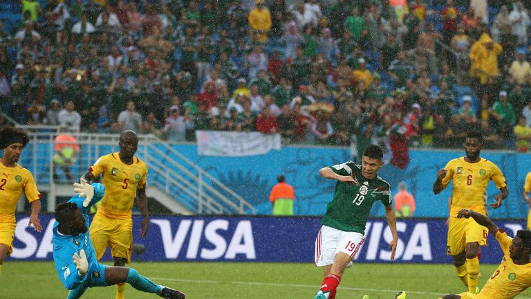 Oribe Peralta: Slid home the only goal