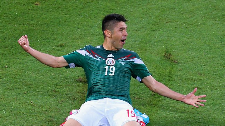 Oribe Peralta: Produced an impressive forward performance in Mexico's victory