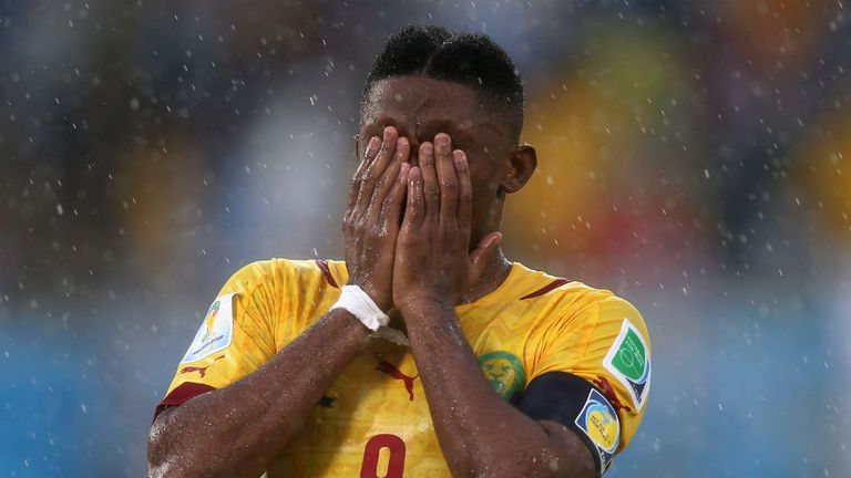 Samuel Eto'o: No way through for Cameroon
