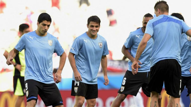Suarez: Hoping to help Uruguay beat England on Thursday night