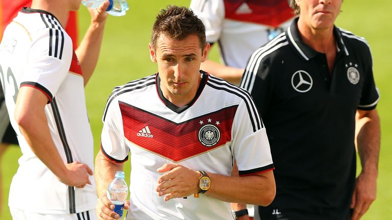 Miroslav Klose: Germany striker eyeing World Cup record