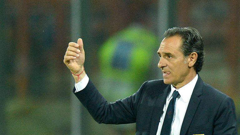 Cesare Prandelli: Has been appointed at Galatasaray after disappointing World Cup with Italy