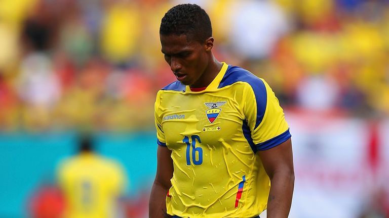 Antonio Valencia: Ecuador captain has apologised for his red card
