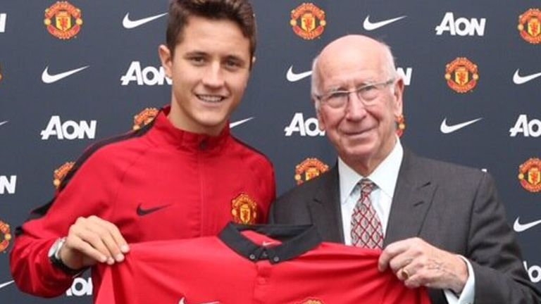 Herrera: already signed for £29million from Athletic Bilbao