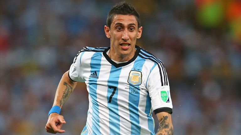 Angel Di Maria: The Argentine is flying into Manchester on Monday afternoon according to Sky sources.