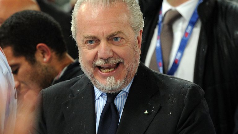 Aurelio de Laurentiis: Napoli president has trust in his squad