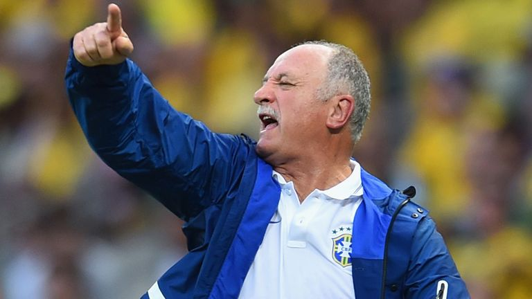 Scolari has hit back at criticism over Brazil's performances
