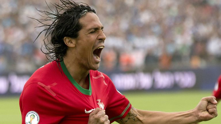 Bruno Alves: Headed the winner for Portugal against Mexico