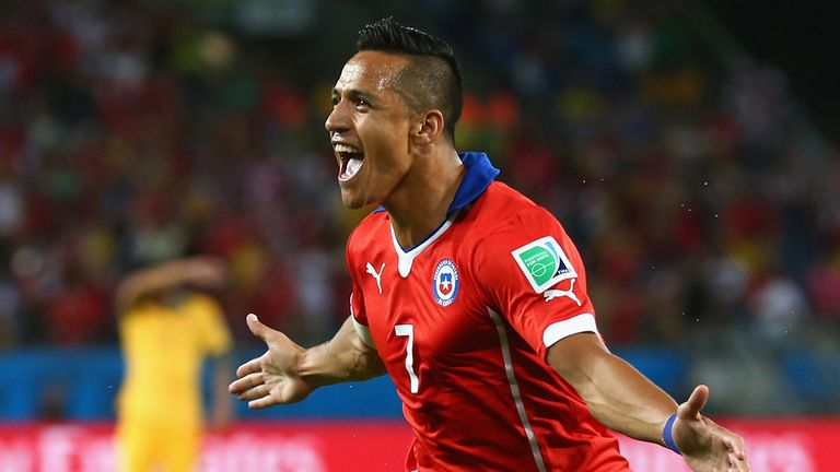 Alexis Sanchez: Opened the scoring for Chile