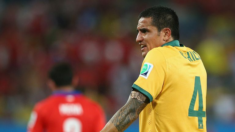 Tim Cahill: Gave his all in a losing cause