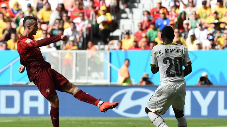 Cristiano Ronaldo: Portugal forward scored against Ghana