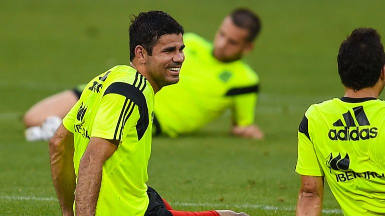 Diego Costa: Heading for Chelsea