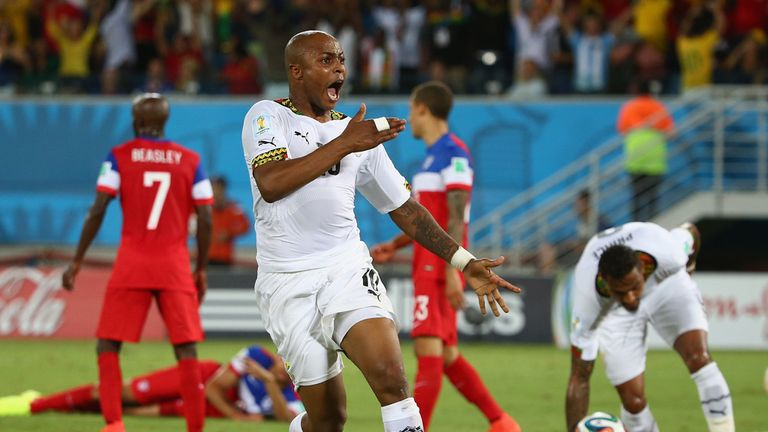 Andre Ayew: Levelled up for Ghana