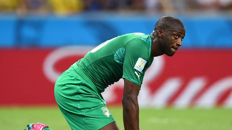Yaya Toure: Ivory Coast midfielder unhappy with decisions