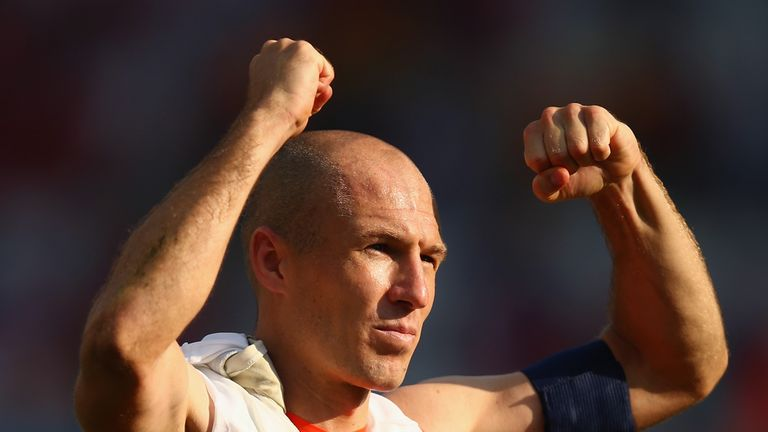 Arjen Robben: More to come from Holland