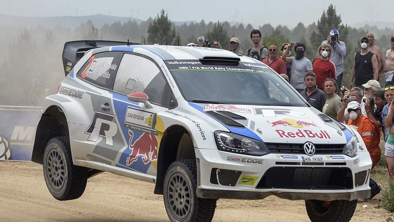 Jari-Matti Latvala: still leading