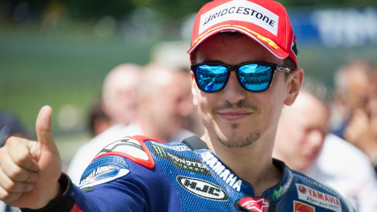 Jorge Lorenzo: Joins Valentino Rossi for another two years with Yamaha