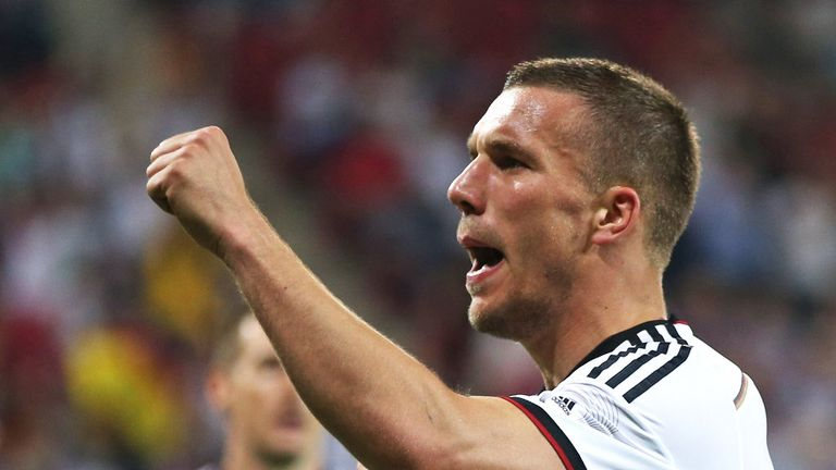 Lukas Podolski: Desperate to see Germany reach the World Cup final