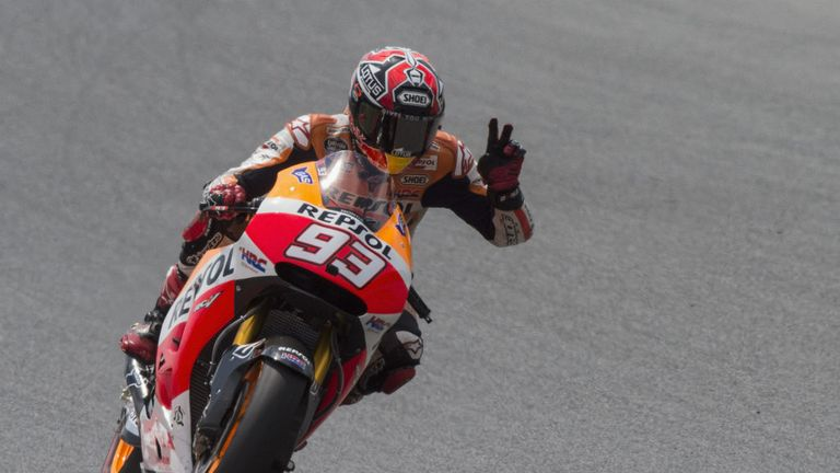 Marc Marquez: Storms to seventh consecutive race win of the season