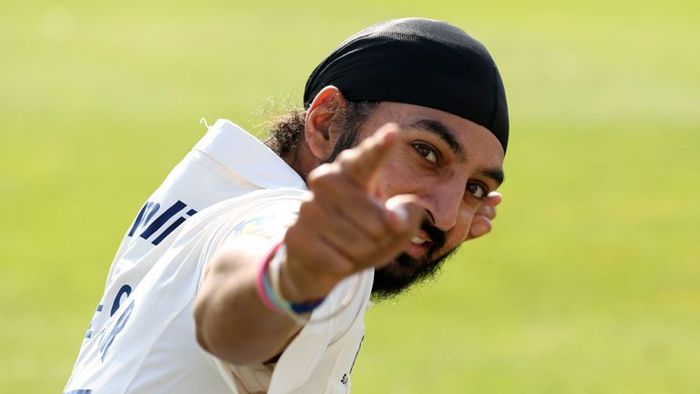 Monty Panesar: five wickets for Essex