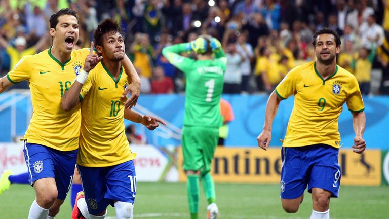 Brazil got off to a winning World Cup start - after a dubious penalty call was awarded in their favour