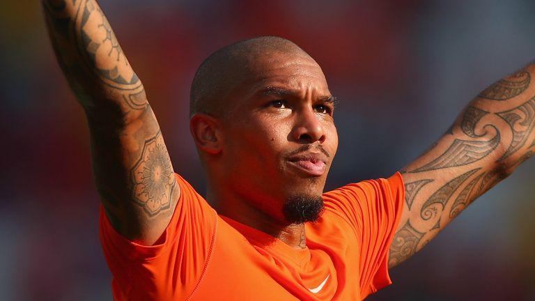 Nigel de Jong: Holland midfielder to miss remainder of the World Cup
