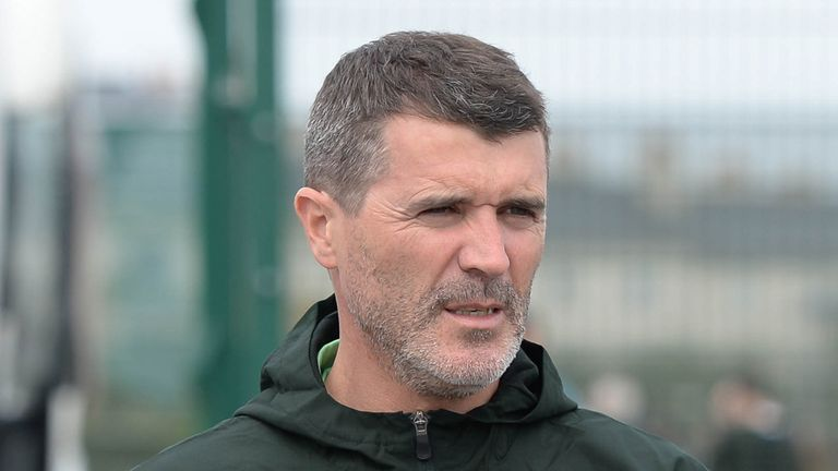 Roy Keane: Discussing coaching role at Aston Villa