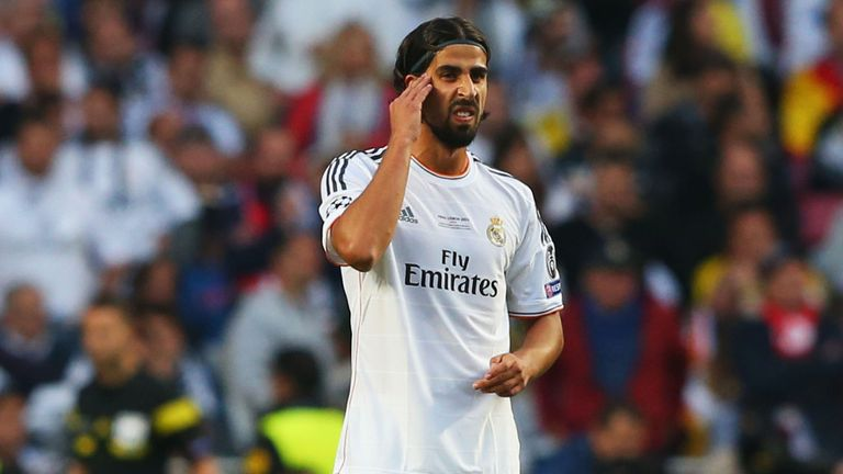 Sami Khedira: Backed for a move to Arsenal with Sky Bet