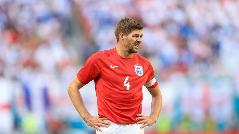 Steven Gerrard: Unhappy with Honduras' approach