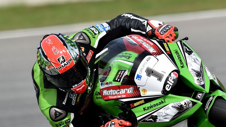 Tom Sykes: Pole position in Portugal