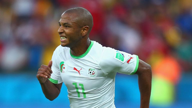 Yacini Brahimi: Starred at the World Cup