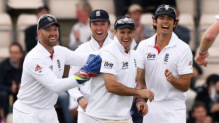 Prior, Swann, Strauss and Cook enjoying the winning habit in 2011