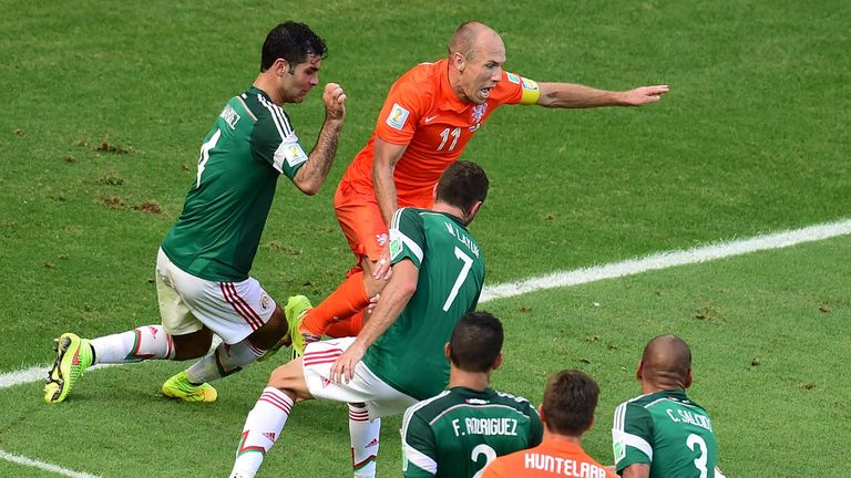 Arjen Robben: Holland winger will not face any retrospective action from FIFA