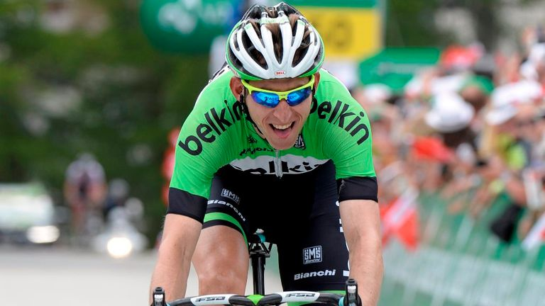 Bauke Mollema will look to improve on his sixth place at last year's Tour de France