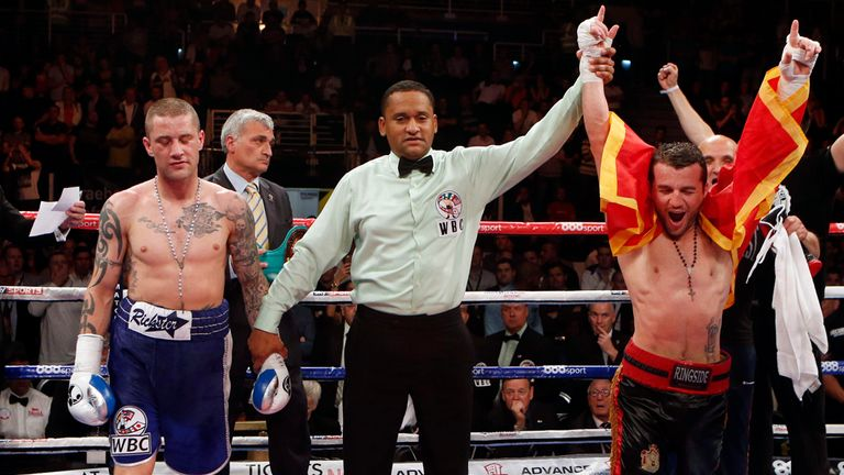 Ricky Burns lost to southpaw Dejan Zlaticanin but took him to the cards