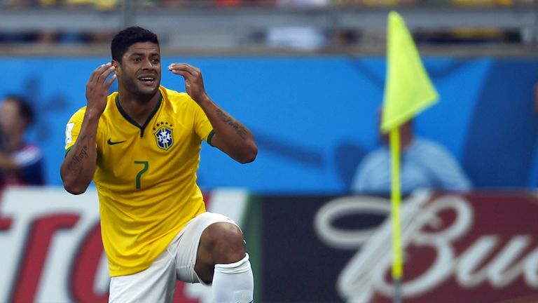Hulk cannot believe his goal did not stand