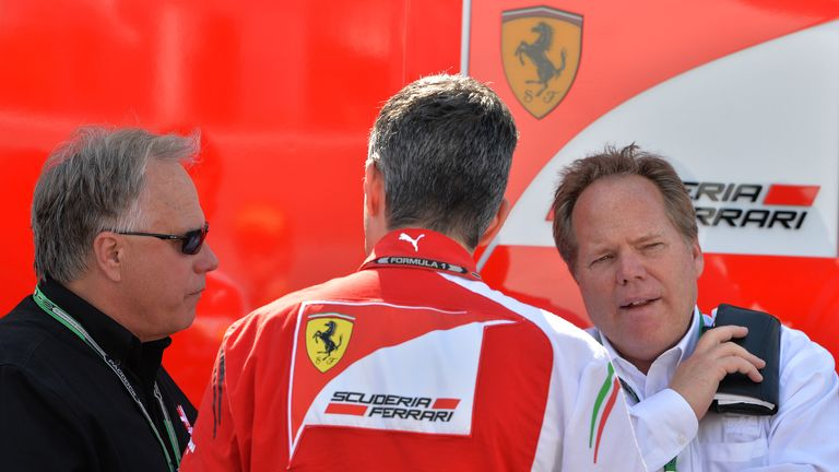 Gene Haas at Ferrari during the Canadian GP