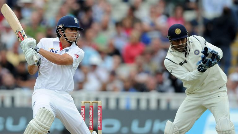 Alastair Cook and Mahendra Singh Dhoni: Both have spoken out about the Trent Bridge row