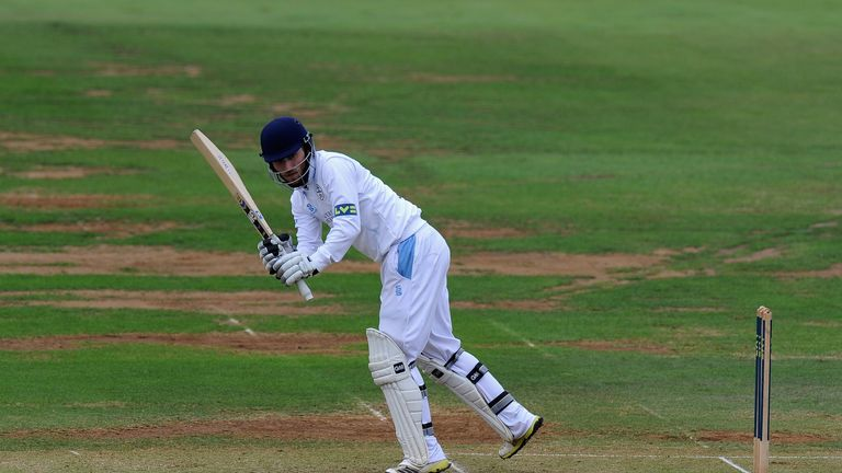 Paul Borrington: Leaves Derbyshire after being told no new deal would be offered