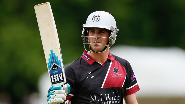 Craig Kieswetter: Somerset keeper sidelined by injury