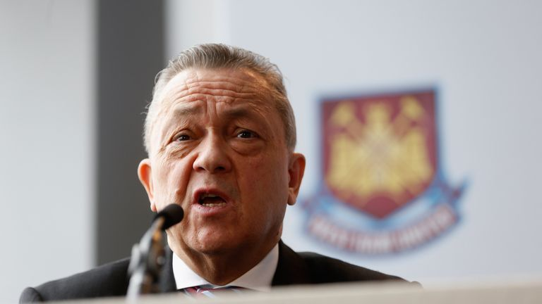 David Sullivan: West Ham co-owner